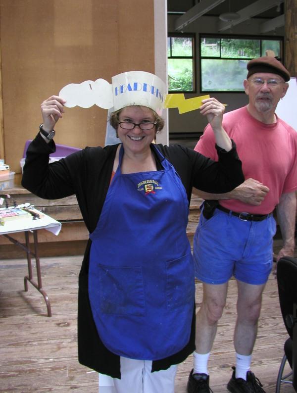Ann n Ron w headdress