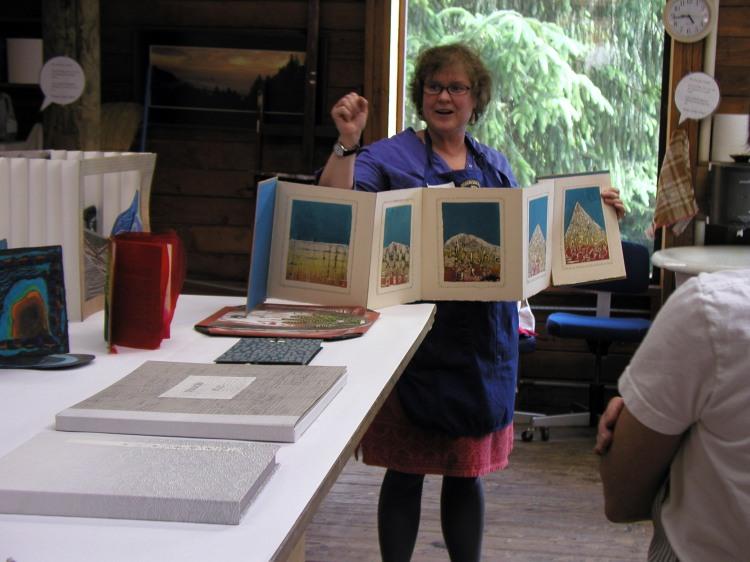 Ann showing books 2