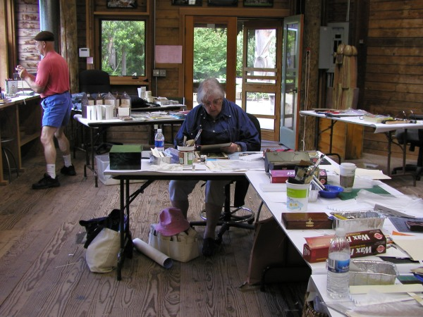 Daryl working Ron photo