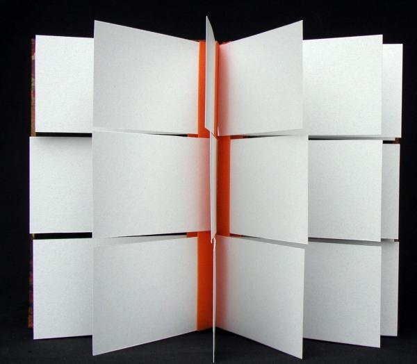 open card concertina