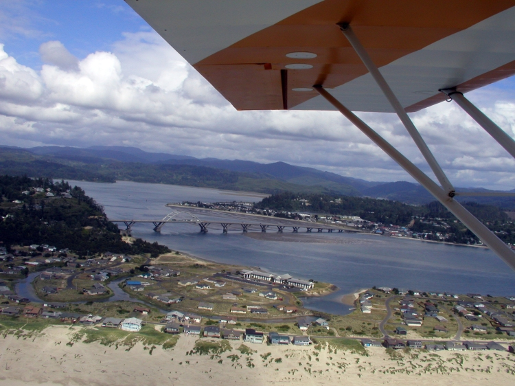 over WaldportBayshore