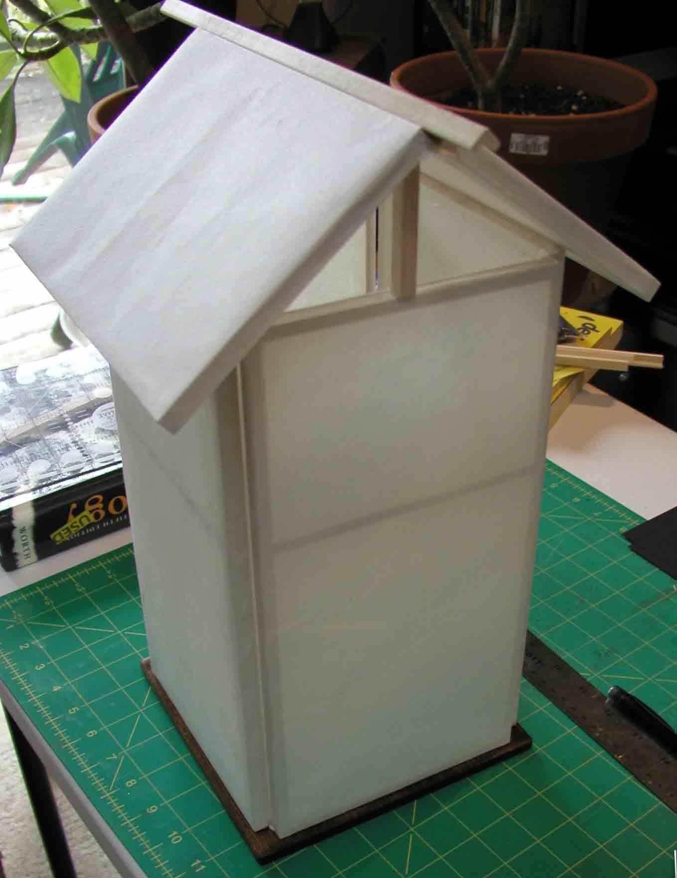birdhouse lamp plans