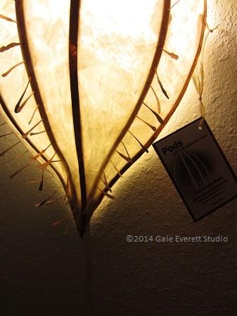 Pod Lamp, Gale Everett Studio