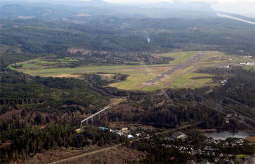 Newport-airstrip