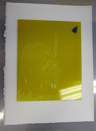 Yellow ready to print.