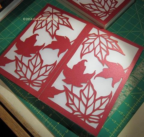 maple leaf luminaria