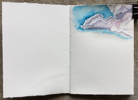 sketchbook clouds