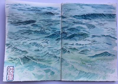 waves before pen