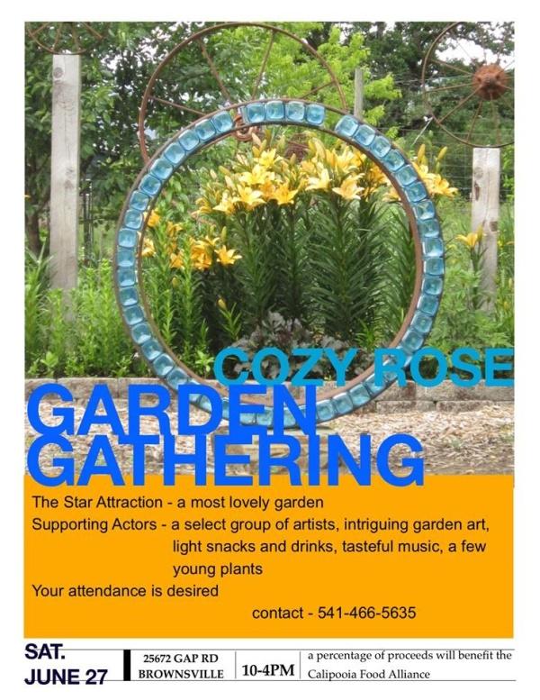 Garden Sale Poster
