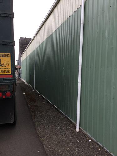 DLF wall close