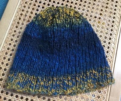 Andrews hat_hand spun wool